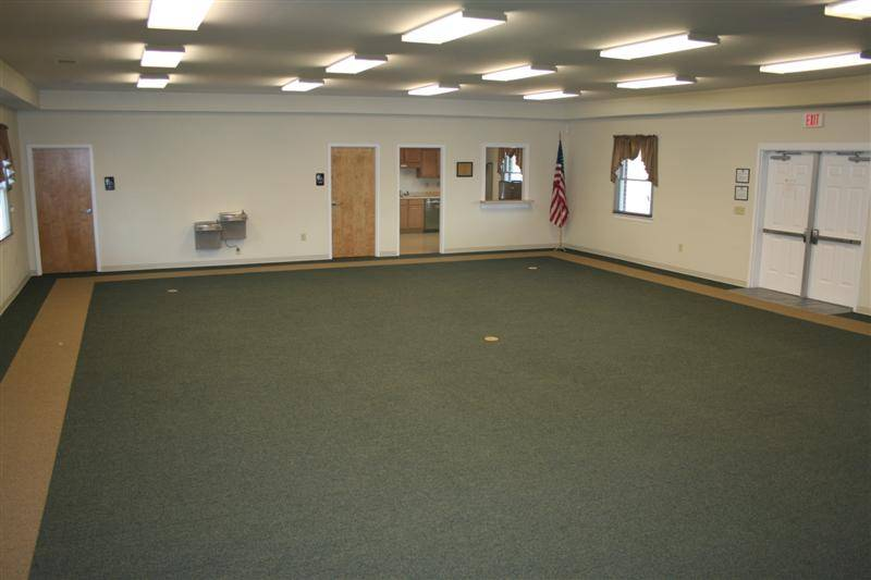 Community Center Meeting Room - a large, open space